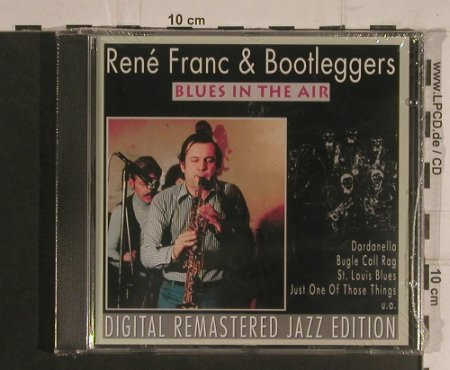 Franc,Rene & Bootleggers: Blues in the Air, FS-New, Pastels(20.1650), EEC, 1995 - CD - 99589 - 10,00 Euro