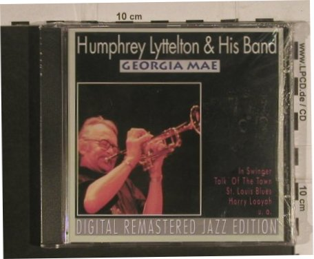 Lyttelton,Humphrey and his Band: Georgia Mae, FS-New, Pastels(20.1623), EEC, 1995 - CD - 99590 - 10,00 Euro