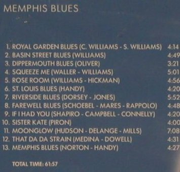 Spanier,Muggsy: Memphis Blues, FS-New, TIM(), CZ, 2002 - CD - 99743 - 5,00 Euro