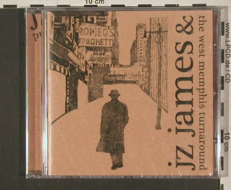 JZ James & the Memphis Turnaround: Same, FS-New, Moon Sound Rec(1315-1514-27), , 2008 - CD - 99968 - 10,00 Euro