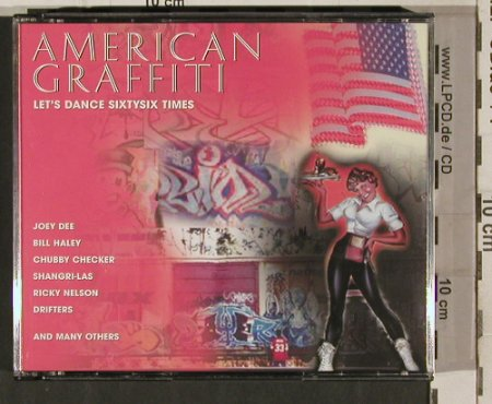 V.A.American Graffiti: Let's Dance Sixtysix Times, Trilogie(205970), , 2001 - 3CD - 80267 - 7,50 Euro
