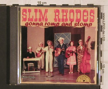 Rhodes,Slim: Gonna Romp And Stomp, 21 Tr., Gee-Dee(270132-2), D, 1997 - CD - 83290 - 12,50 Euro