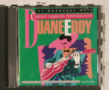 Duane Eddy: 21 Greatest Hits, Motown(06218MD), US, 1986 - CD - 83823 - 7,50 Euro