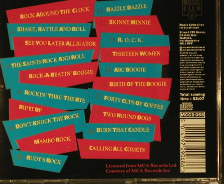 Haley,Bill & Comets: The Very Best Of, Music Club(MCCD068), UK, 1992 - CD - 83833 - 6,00 Euro