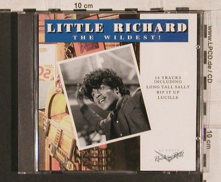 Little Richard: The Wildest !, 16 Tr., Charly(), EEC, 1992 - CD - 83835 - 6,00 Euro