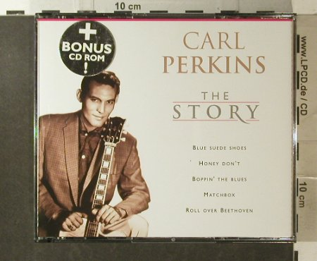 Perkins,Carl: The Story, EMI Plus(724357615709), EU, 2000 - CD/DVD - 83841 - 11,50 Euro