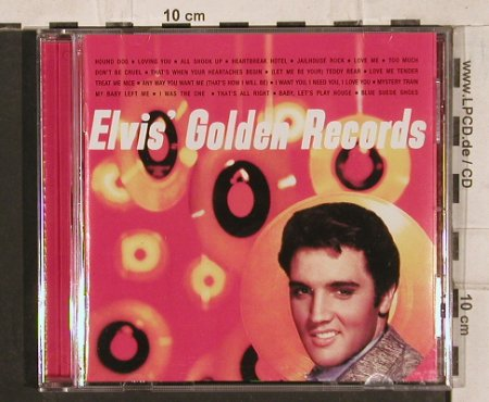 Presley,Elvis: Gold Records, 20 Tr., RCA(), D, 1997 - CD - 83845 - 7,50 Euro