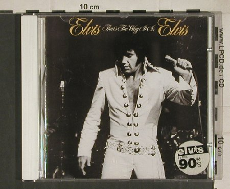 Presley,Elvis: That's the Way it is(1970), RCA(146902), D, 1993 - CD - 83846 - 7,50 Euro
