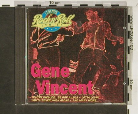 Vincent,Gene: Same, Legends of R'n'R Series,18Tr., Capitol(CDP 798 1332), NL, 1992 - CD - 83848 - 7,50 Euro
