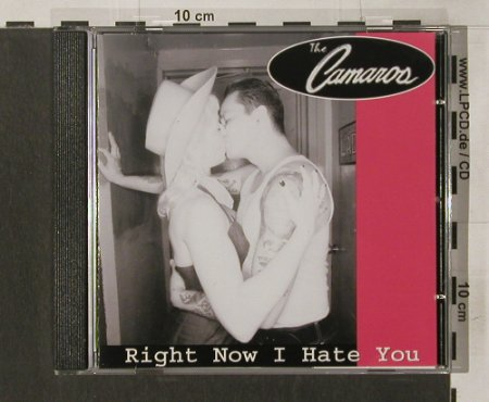 Camaros,The: Right Now I Hate You, vg+/m-, Frankie Boy Records(), D, 2002 - CD - 84248 - 5,00 Euro