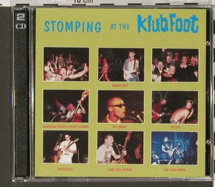 V.A.Stomping at the Klubfoot Vol.5: The James Dean o.t.DoleQueue, Head/North(), UK, 87 - 2CD - 90843 - 10,00 Euro