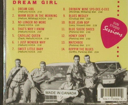 Billys,The: Dream Girl, FS-New, Sun Studio(706-701D), CDN,  - CD - 93129 - 10,00 Euro