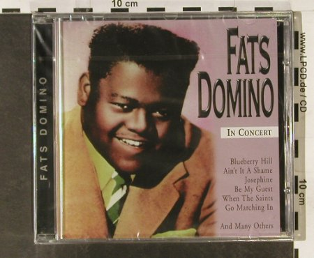 Domino,Fats: In Concert, FS-New, Selected Sound(3445.2141-2), CH, 1999 - CD - 93315 - 5,00 Euro