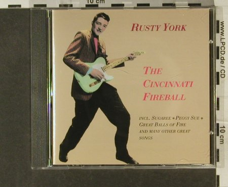 York,Rusty: CincinnatiFireball, 25 Tr., Gee-Dee(270103-2), D, 94 - CD - 94839 - 10,00 Euro