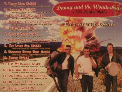 Danny & the Wonderbras: End of the Road, FS-New, Toca/DMG(54.218078.2), D, 2008 - CD - 99874 - 10,00 Euro
