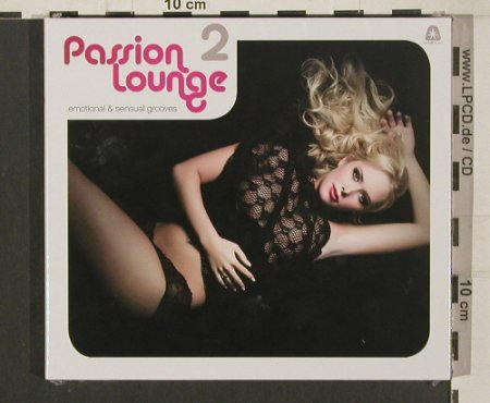 V.A.Passion Lounge: 2 - emotional&sensual, Digi, FS-New, Clubstar(), , 2009 - 2CD - 80018 - 10,00 Euro