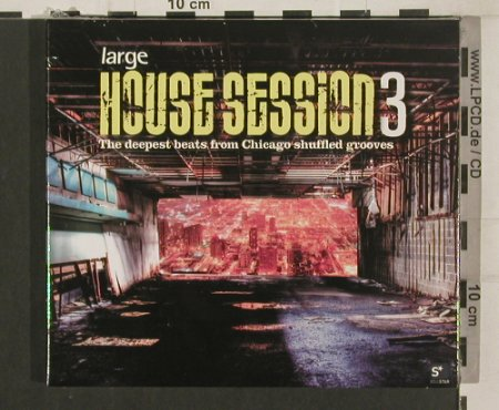 V.A.House Session 3: The deepest beats fr.Chicago.Digi, Clubstar(CLS00001892), FS-New, 2008 - 2CD - 80053 - 10,00 Euro
