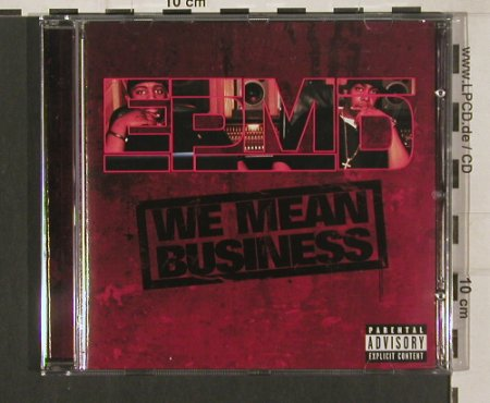 EPMD: WE Mean Business, EP Rec.(BDM0141122), , 2008 - CD - 80105 - 10,00 Euro