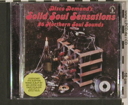 V.A.Solid Soul Sensations: 26 Northern Soul Sound, FS-New, Castle(CMQcd1011), 26 Tr., 2004 - CD - 80242 - 12,50 Euro