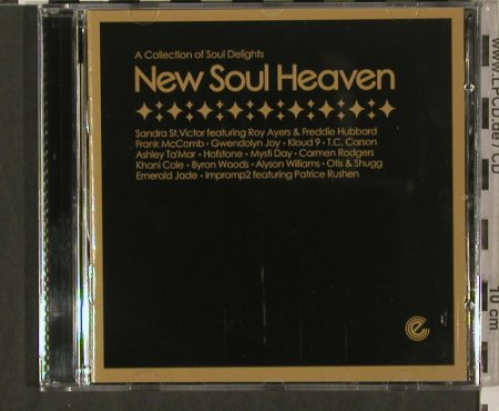 V.A.New Soul Heaven: Carmen Rodgers,Alyson Williams..., Expansion Record(EXCDP 37), UK, 2004 - CD - 80243 - 7,50 Euro