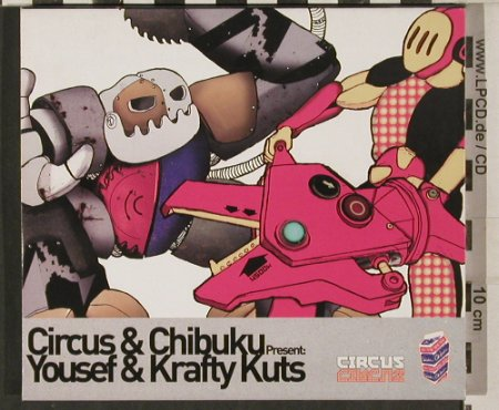 Circus & Chibuku: Yousef & Krafty Kuts, Carioca Records(Yos 006cd), UK, 2004 - 2CD - 80252 - 10,00 Euro