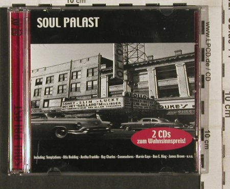 V.A.Soul Palast: Wilson Pickett...Percy Sledge,32 Tr, FNM(23045), D, 2001 - 2CD - 80260 - 5,00 Euro