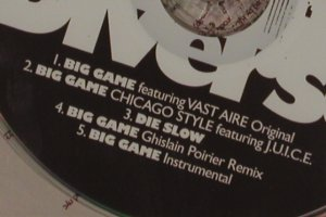 V.A.Big Game: RJD2,Vast Aire..., 5 Tr.FS-New, Chocolate Indust.(CHLT051cd), , 2004 - CD5inch - 80487 - 2,50 Euro