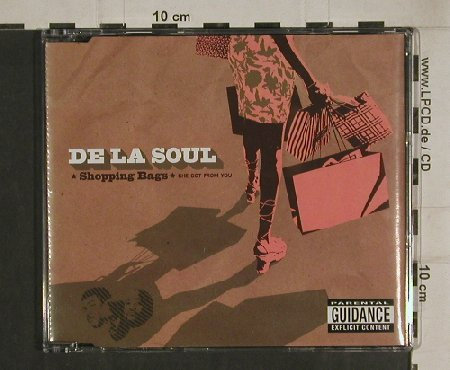 De La Soul: Shopping Bags/the Grind Date*3, Sanctuary(SANXD326), EU, 2004 - CD5inch - 80512 - 2,50 Euro