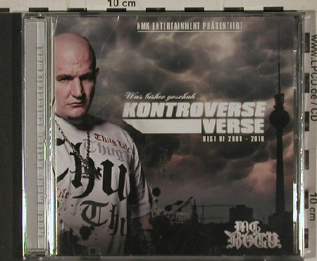 MC Bogy: Kontroverse Verse,Best of 2000-2010, NMK(), , 2010 - CD - 80620 - 7,50 Euro