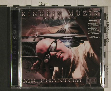 Mr.Phantom: Kingpin Muzik Vol.1, FS-New, D Smoke(dse007), , 2010 - CD - 80665 - 5,00 Euro