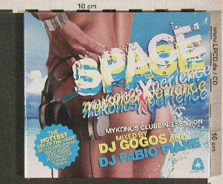 V.A.Space Dance: Mykonosexperience Vol.4, Clubstar(CLS0002512), EU, 2011 - 2CD - 80809 - 10,00 Euro