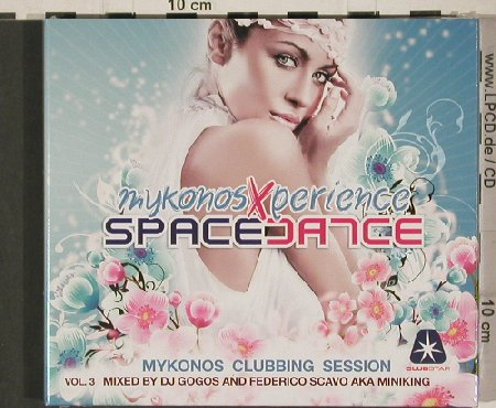 V.A.Space Dance: Mykonosexperience Vol.3, FS-New, Clubstar(CLS0002172), EU,Digi, 2010 - 2CD - 80857 - 10,00 Euro