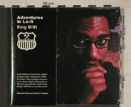 King Britt: Adventures in Lo-Fi, Digi, FS-New, BBE(RR0013cd), F, 2002 - CD - 81034 - 10,00 Euro