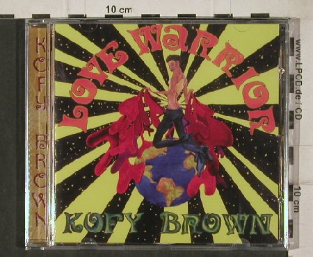 Brown,Kofy: Love Warrior, Soul Brother Rec.(SBPJ 21), UK, 2004 - CD - 81221 - 10,00 Euro