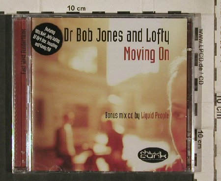 Dr.Bob Jones and Lofty: Moving on, FS-New, Chillifunk(CFcd013), , 2004 - CD - 81265 - 7,50 Euro