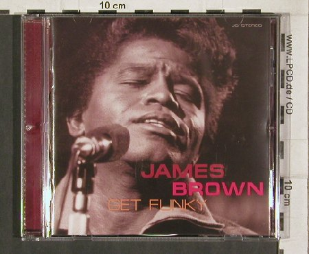 Brown,James: Get Funky-Live, 15 Tr., Yeaah!/EFA(32), UK,  - CD - 81299 - 10,00 Euro