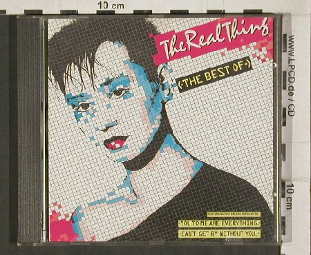 Real Thing: The Best of the, 12 Tr., PRT(8.26883), D, 1988 - CD - 81306 - 6,00 Euro