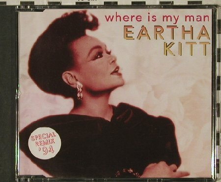 Kitt,Eartha: Where is my Man*4, sp.remix, BlowUp(), D, 1994 - CD5inch - 81366 - 3,00 Euro