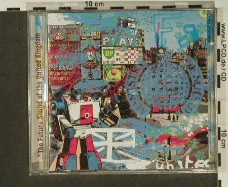 V.A.The Future Sound of: United Kingdom, Open, MinistryOS(), UK, 1997 - 2CD - 82515 - 10,00 Euro