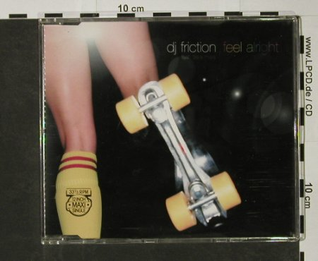 DJ Friction: Feel Alright*3+1, Columb.(), A, 2002 - CD5inch - 82695 - 3,00 Euro
