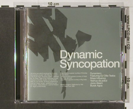 Dynamic Syncopation: Dynamism, Ninja Tune(), UK, 1999 - CD - 82713 - 7,50 Euro