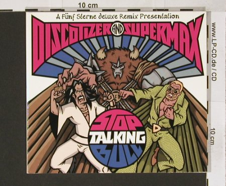 Discotizer + Supermax: Stop Talking Bull+5, Yo Mama(), D, 2000 - CD5inch - 82715 - 5,00 Euro