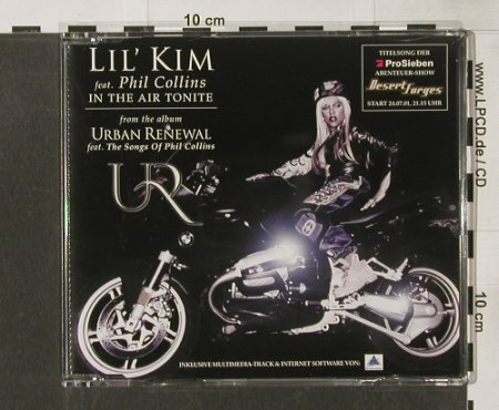 Lil'Kim feat. Phil Collins: In The Air Tonight*5,incl.Multimedi, WEA(), , 2001 - CD5inch - 82741 - 4,00 Euro
