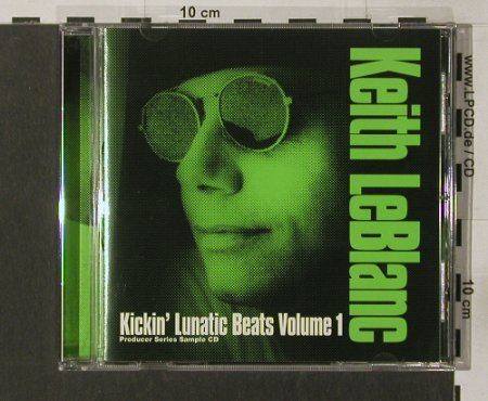 Leblanc,Keith: Kickin' Lunatic Beats Vol.1,  96Tr., Blanc Rec.(12), ,  - CD - 82744 - 10,00 Euro