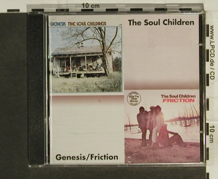 Soul Children: Genesis/Friction , 1971-74, Stax(), D, 1999 - CD - 82761 - 7,50 Euro