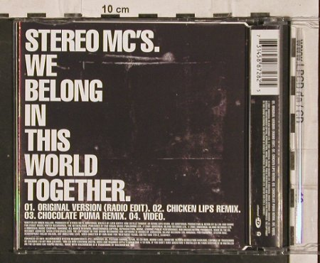 Stereo MC's: We Belong In This World Together*4, Island(588 728-2), D, 2001 - CD5inch - 82771 - 3,00 Euro