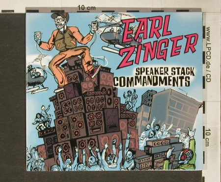 Zinger,Earl: Speaker Stack Commandments,Digi, !K7(167), F, 2004 - CD - 82775 - 7,50 Euro
