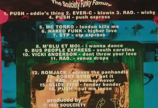 V.A.Best of Funky Family: 16 Tr, Push,Ever-C, R.A.D...., Soulciety(me 00552), D, 1997 - CD - 82783 - 5,00 Euro