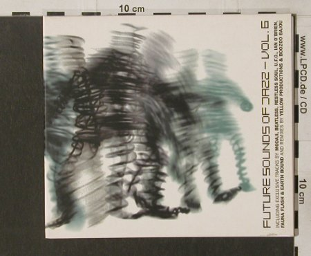 V.A.Future Sound Of Jazz Vol.6: 11 Tr.,Digi, Compost(060-2), EC, 1999 - CD - 82784 - 7,50 Euro
