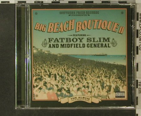 V.A.Big Beach Boutique II: 17 Tr., Southern Fried Rec.(), UK, 2002 - CD - 82789 - 7,50 Euro